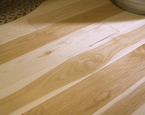 Hickory Natural hardwood flooring