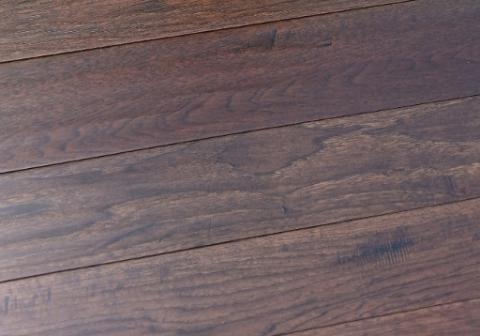 Hickory Outback hardwood flooring